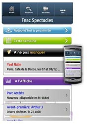 Application sur Samsung